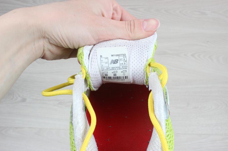Яркие спортивные кроссовки new balance оригинал, размер 38 (бе... - Фото 7