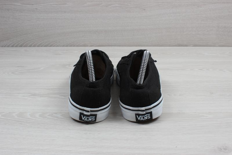 Черные кеды vans оригинал, размер 39 - Фото 6