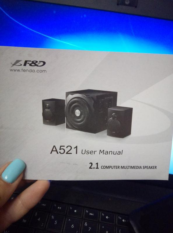 Колонки F&D А521 - Фото 4