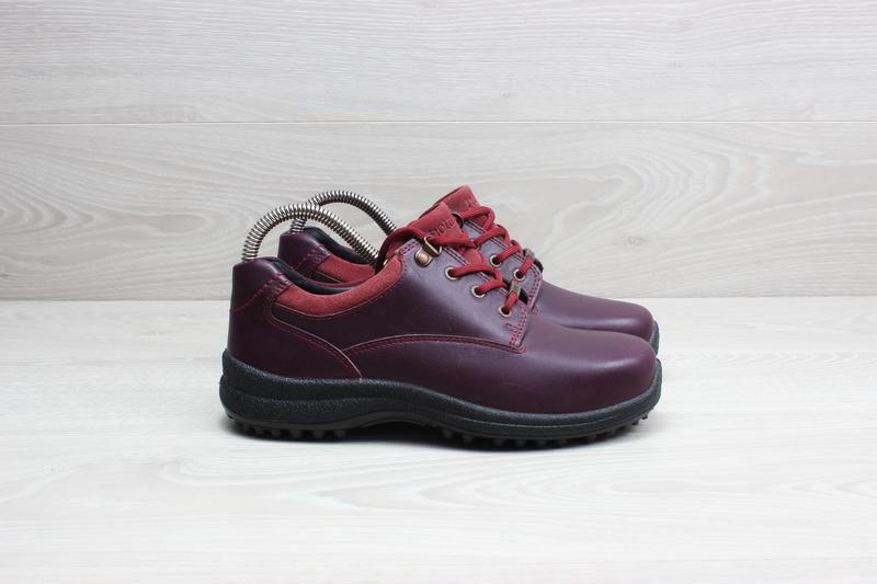 Кожаные женские кроссовки hotter, размер 37 (ботинки gore-tex)