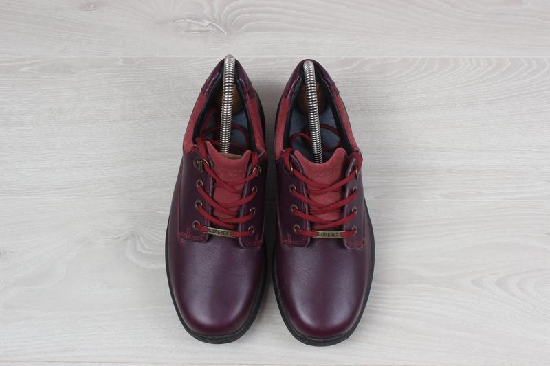 Кожаные женские кроссовки hotter, размер 37 (ботинки gore-tex) - Фото 2