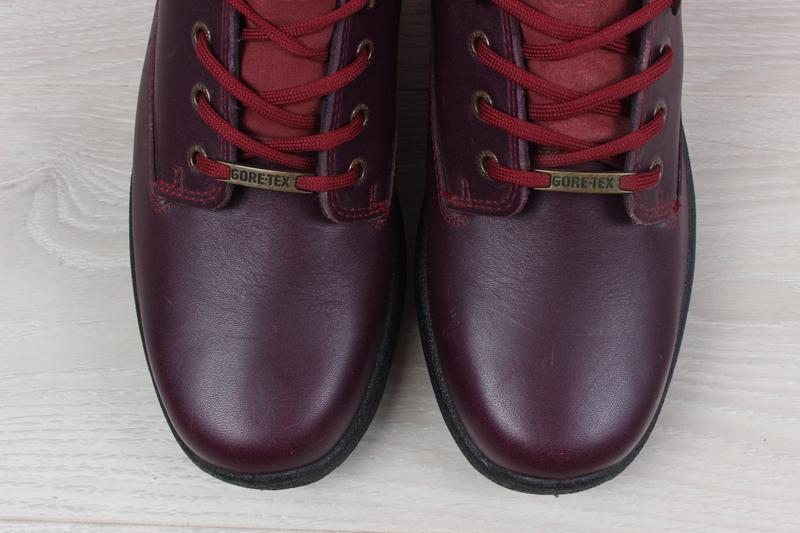 Кожаные женские кроссовки hotter, размер 37 (ботинки gore-tex) - Фото 3
