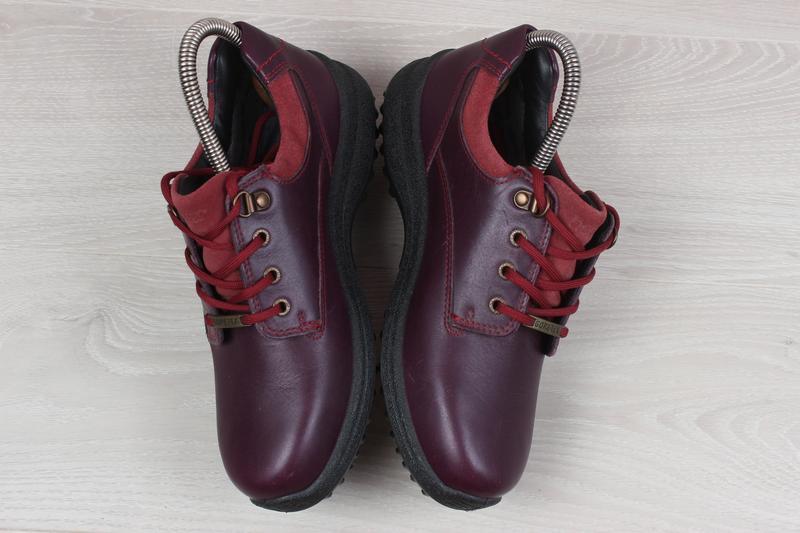Кожаные женские кроссовки hotter, размер 37 (ботинки gore-tex) - Фото 4