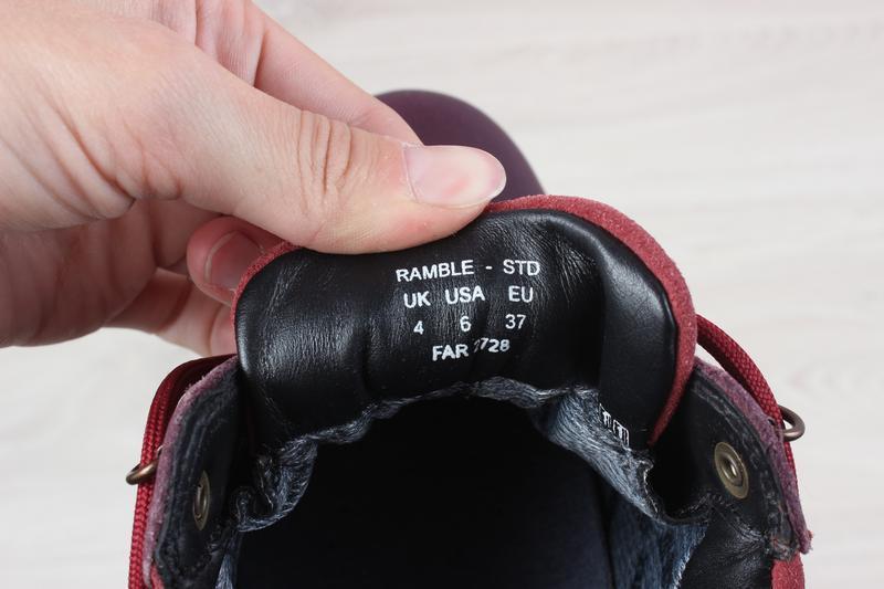 Кожаные женские кроссовки hotter, размер 37 (ботинки gore-tex) - Фото 9