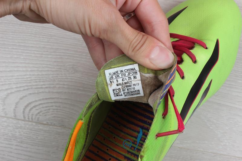 Футбольные бутсы adidas adizero f50, размер 43 (профи, полупро... - Фото 3