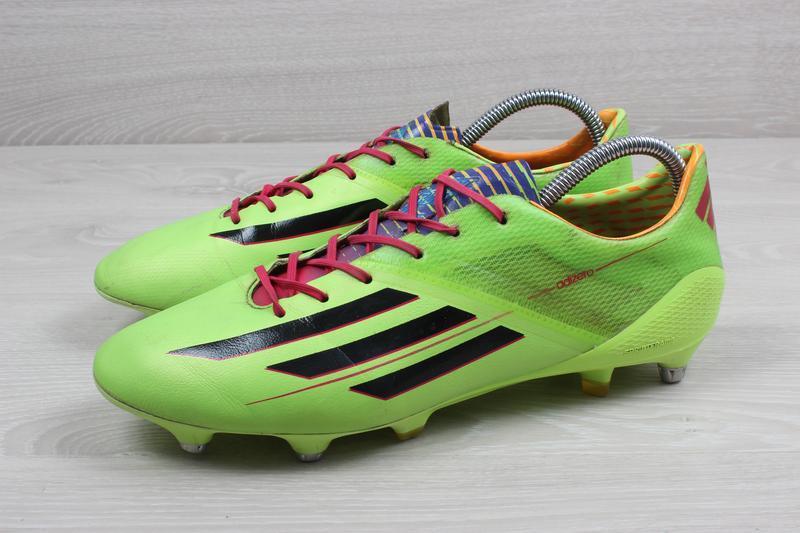 Футбольные бутсы adidas adizero f50, размер 43 (профи, полупро... - Фото 5