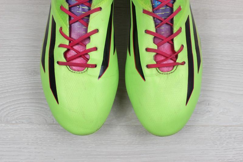 Футбольные бутсы adidas adizero f50, размер 43 (профи, полупро... - Фото 6