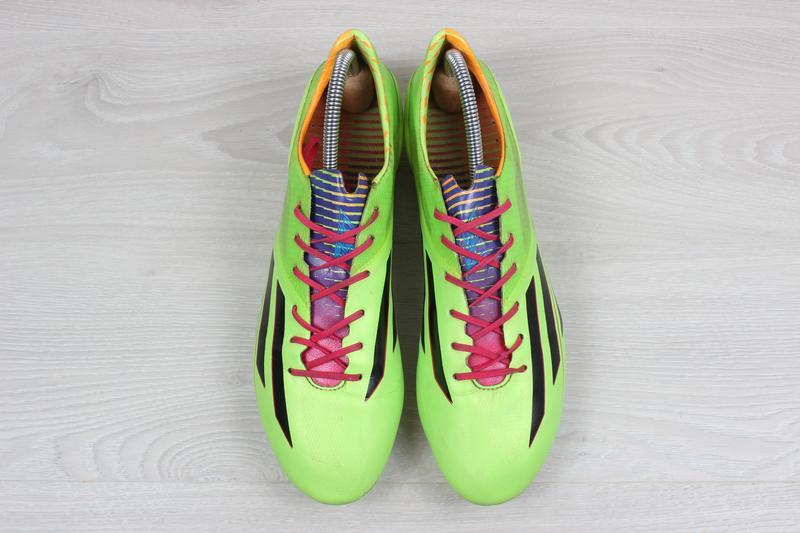 Футбольные бутсы adidas adizero f50, размер 43 (профи, полупро... - Фото 7