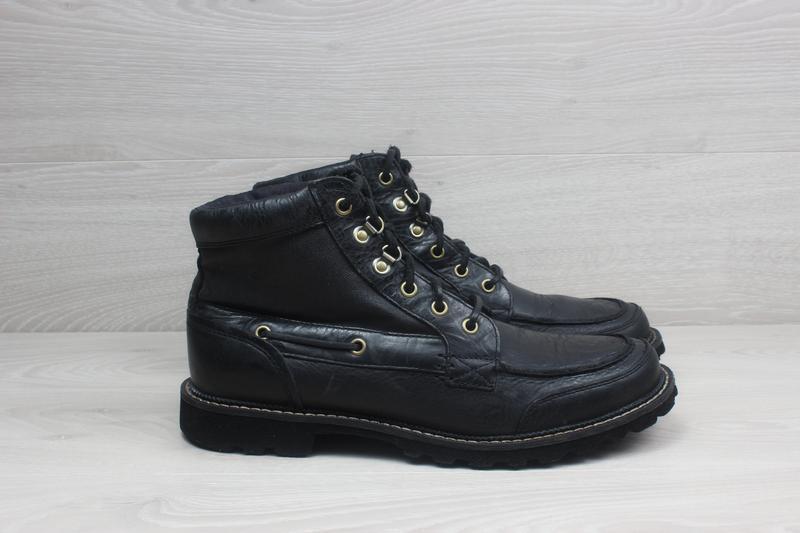 Мужские кожаные ботинки rockport, размер 42 - 42.5 (adiprene b...