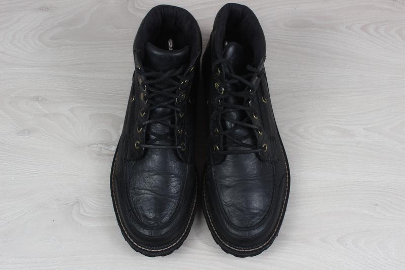 Мужские кожаные ботинки rockport, размер 42 - 42.5 (adiprene b... - Фото 2