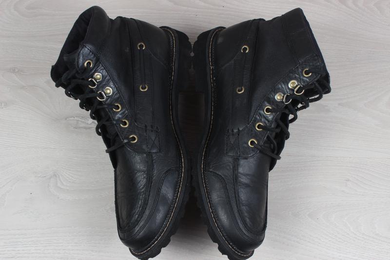 Мужские кожаные ботинки rockport, размер 42 - 42.5 (adiprene b... - Фото 4