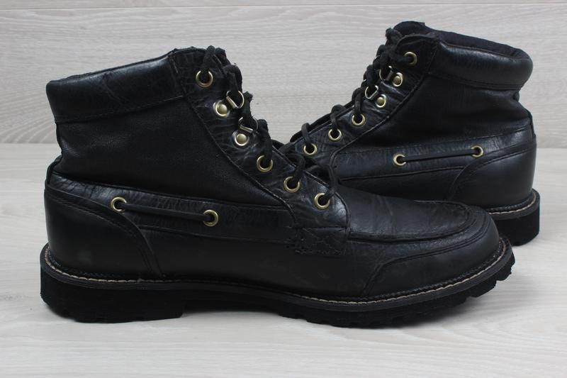 Мужские кожаные ботинки rockport, размер 42 - 42.5 (adiprene b... - Фото 5