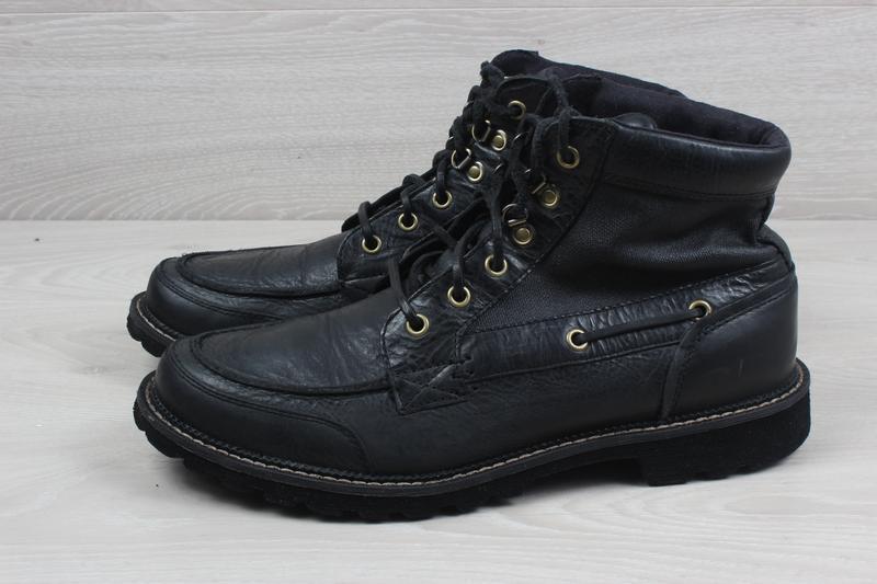 Мужские кожаные ботинки rockport, размер 42 - 42.5 (adiprene b... - Фото 8