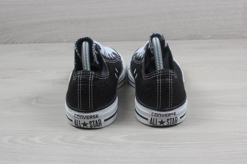 Черные женские кеды converse all star оригинал, размер 36 - 36.5 - Фото 6