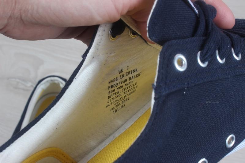 Мужские кеды lyle&scott оригинал, размер 41 - Фото 9