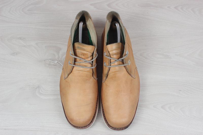 Кожаные мужские ботинки timberland оригинал, размер 43 - Фото 2