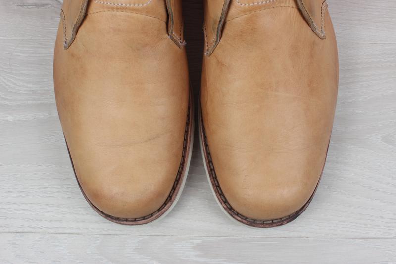 Кожаные мужские ботинки timberland оригинал, размер 43 - Фото 3