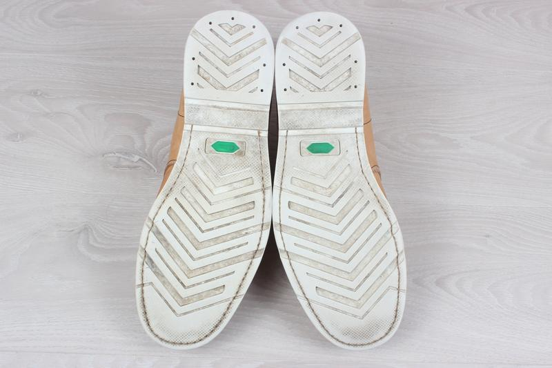 Кожаные мужские ботинки timberland оригинал, размер 43 - Фото 5