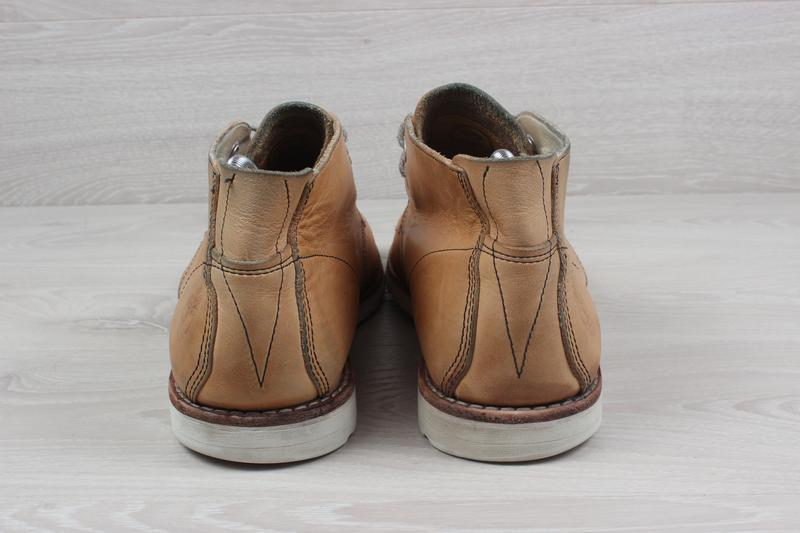 Кожаные мужские ботинки timberland оригинал, размер 43 - Фото 6