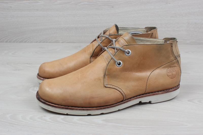 Кожаные мужские ботинки timberland оригинал, размер 43 - Фото 7