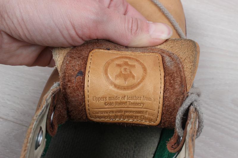 Кожаные мужские ботинки timberland оригинал, размер 43 - Фото 8