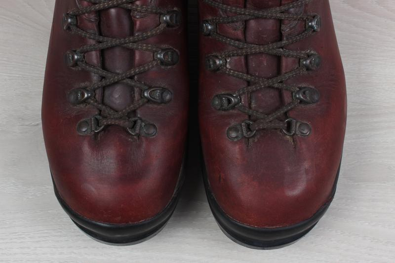 Зимние мужские кожаные ботинки scarpa, размер 43 - 44 (треккин... - Фото 3