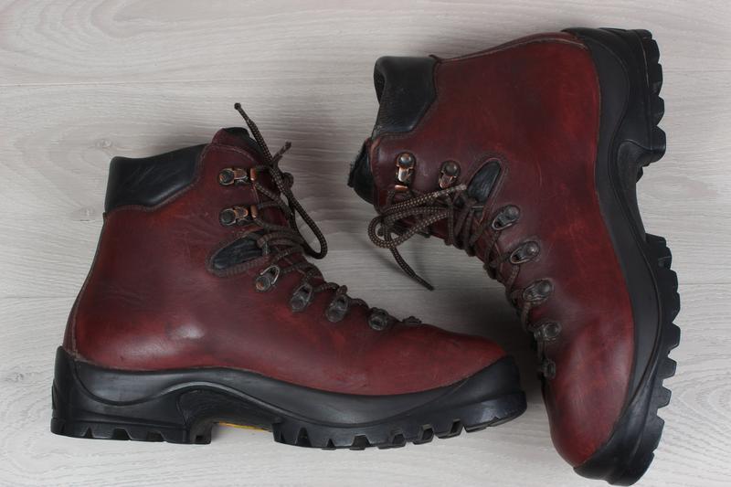 Зимние мужские кожаные ботинки scarpa, размер 43 - 44 (треккин... - Фото 4