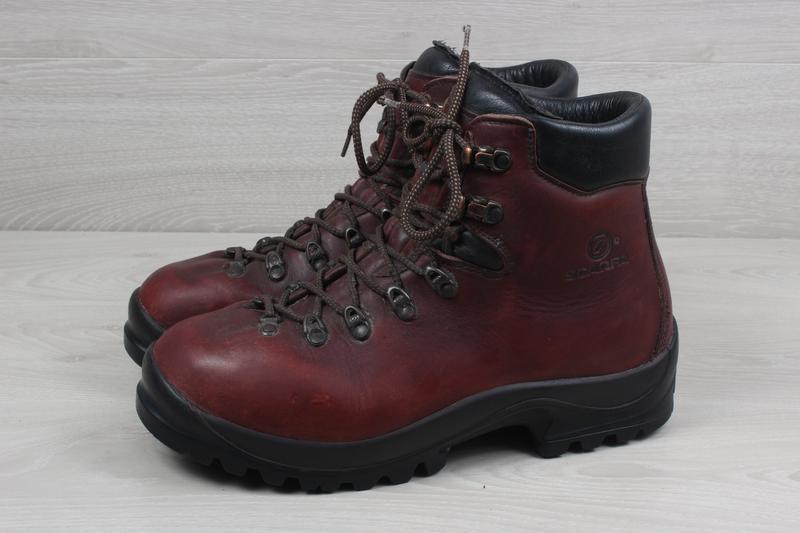 Зимние мужские кожаные ботинки scarpa, размер 43 - 44 (треккин... - Фото 7