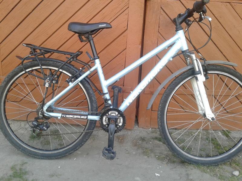 Велосипед алюмінієвий