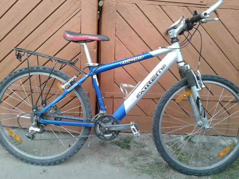 Алюмінієвий велосипед
