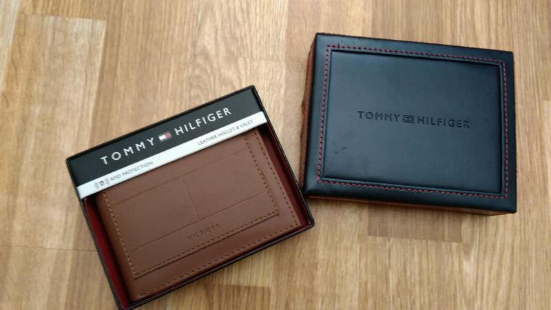 Кошелёк Tommy Hilfiger коричневый