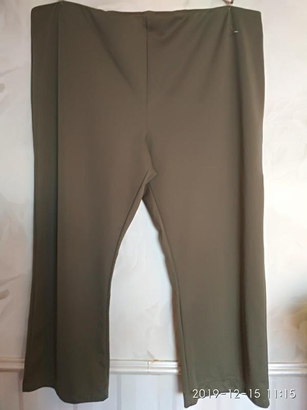 Трикотажные брюки очень большого размера 64-66-68 (58 европ.).