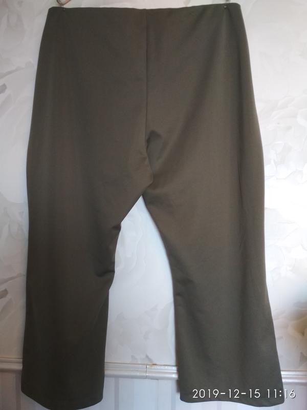 Трикотажные брюки очень большого размера 64-66-68 (58 европ.). - Фото 2