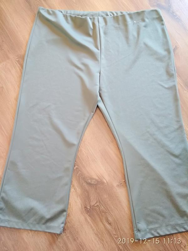 Трикотажные брюки очень большого размера 64-66-68 (58 европ.). - Фото 5