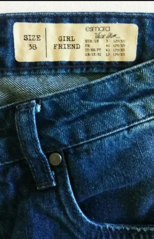 Женские джинсы - girlfriend - Фото 4