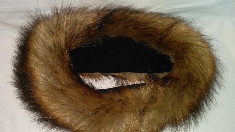 Очень  классная,  теплая полоска на голову из натурального  меха - Фото 4