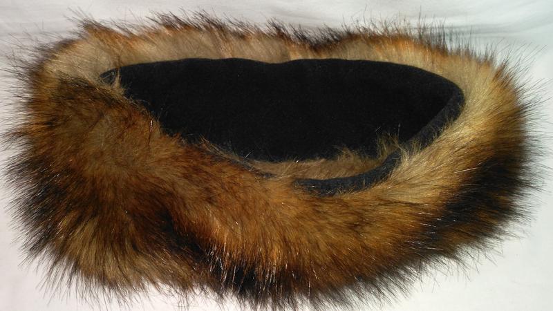 Очень  классная,  теплая полоска на голову из натурального  меха - Фото 5