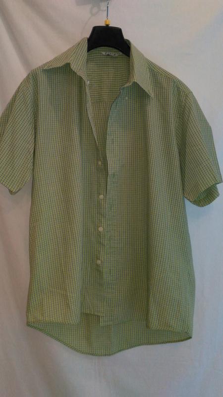 Летняя рубашка с коротким  рукавом - Фото 3