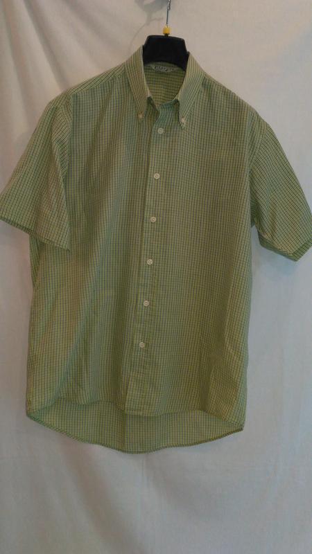 Летняя рубашка с коротким  рукавом - Фото 4