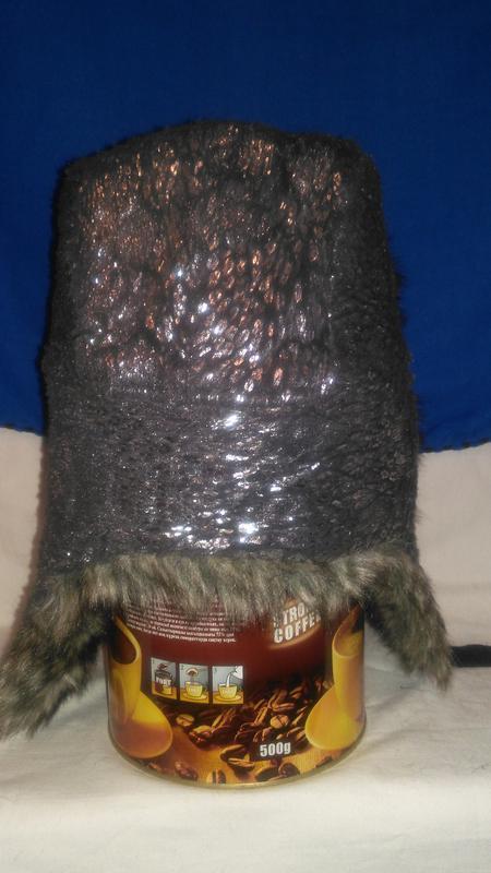Для  модной  девушки очень  классная  шапка ушанка серебристая... - Фото 5