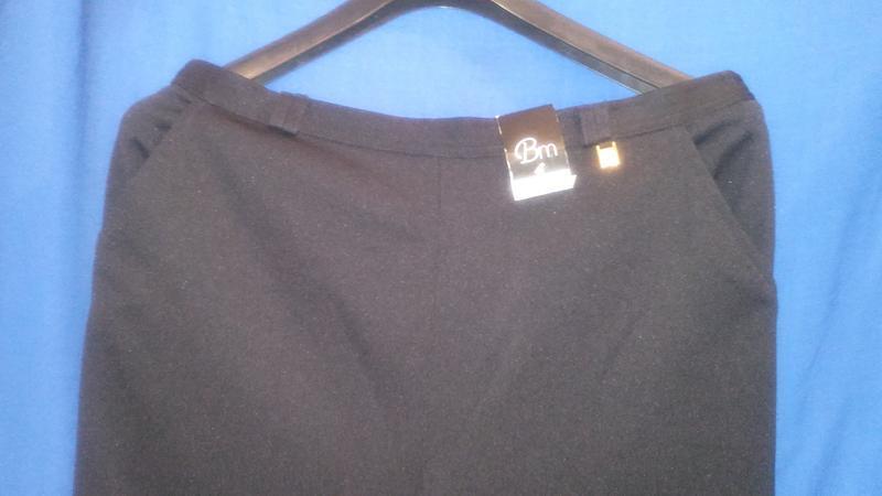 Черные  нарядные  бриджи (made in sri lanka ) - Фото 3