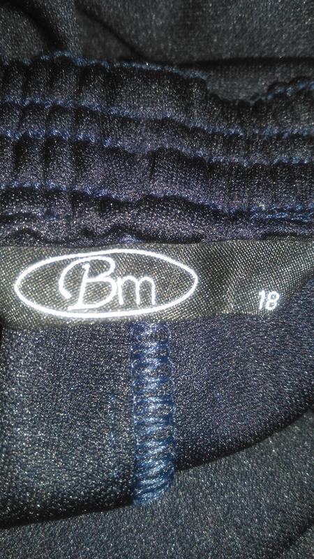 Черные  нарядные  бриджи (made in sri lanka ) - Фото 5
