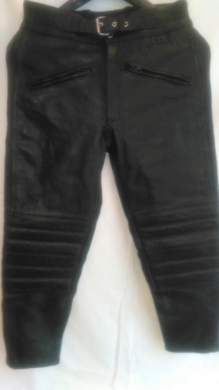 Супер классные  кожаные  мото- штаны ( jts ) - Фото 2