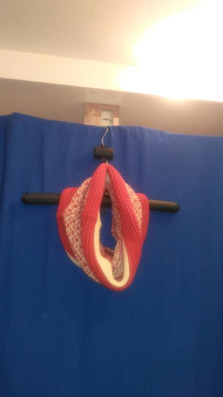 Очень хороший тёплый шарф снуд  (реальный  торг  уместен ) - Фото 2