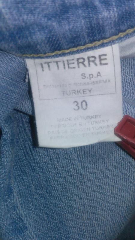 Классные фирменные джинсы ( d&g  made in turkey) - Фото 3