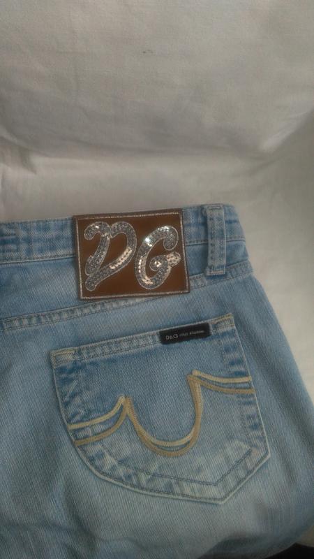 Классные фирменные джинсы ( d&g  made in turkey) - Фото 4