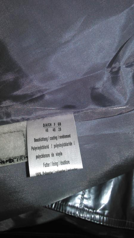Очень классная куртка - дождевик со шляпой - Фото 3