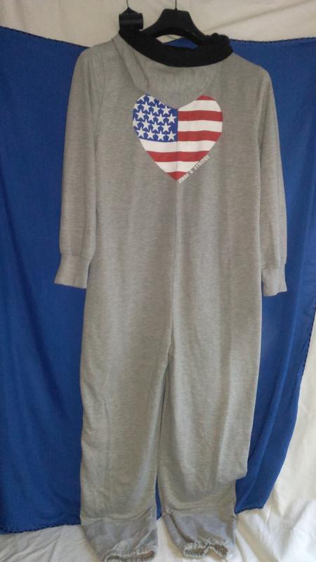 Очень классная  фирменная пижама - комбез  (унисекс ) - Фото 2