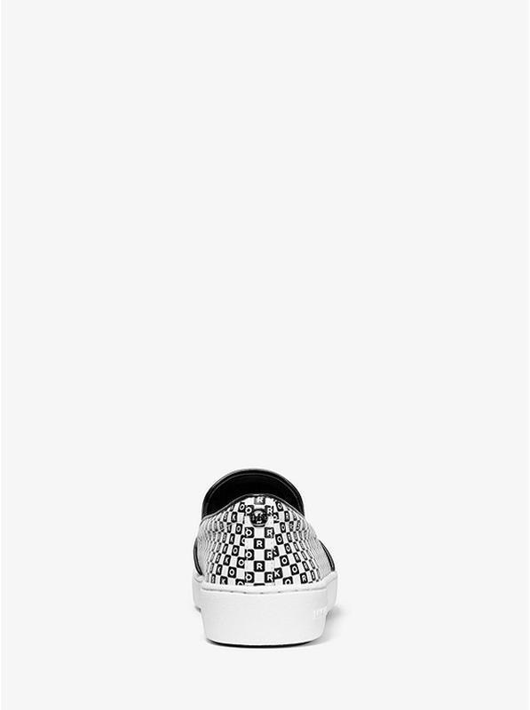 Michael kors слипоны кроссовки кеды лоферы из натуральной кожи - Фото 7