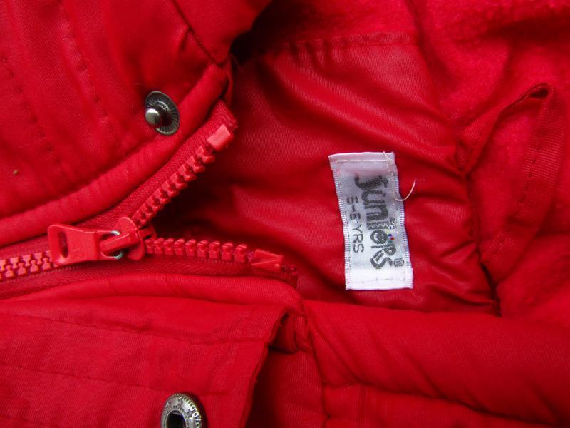 Стильная теплая куртка парка с капюшоном juniors - Фото 4